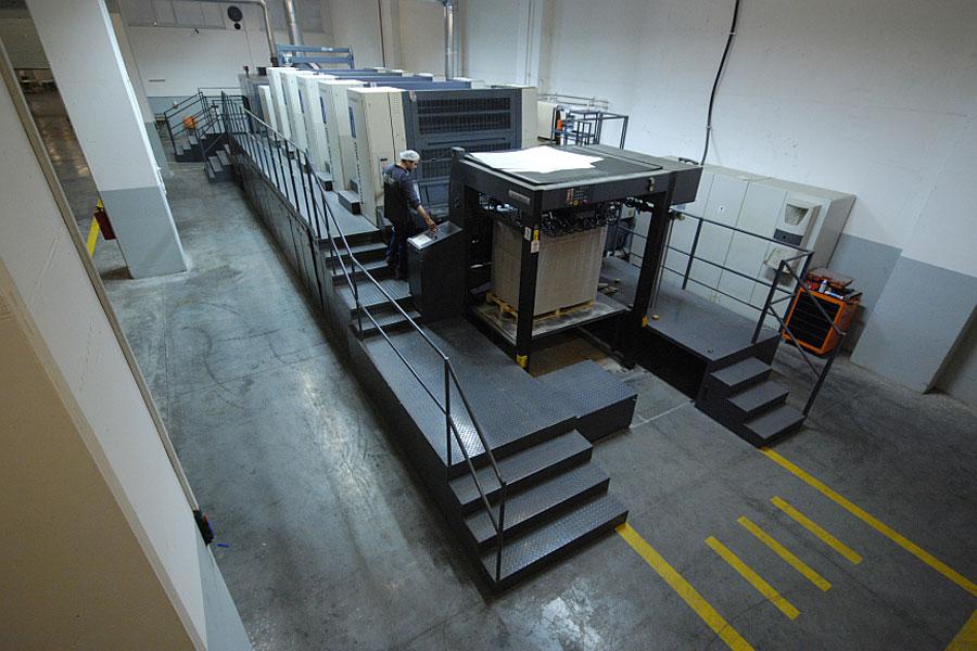ROLAND 900 HiPrint Makinemiz Faaliyette, Kasım 2014.