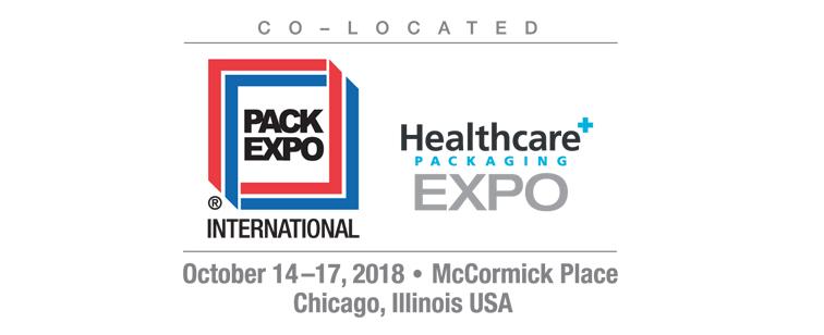 PACK EXPO 14-17 Ekim  Chicago, IL USA FUARINA KATILIYORUZ