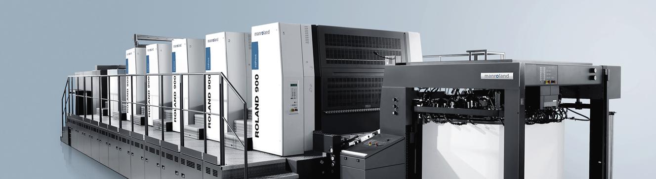 La Machine a imprimer Roland 900 haute i